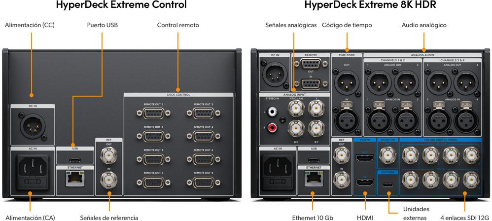 HyperDeck Extreme 8K HDR 3